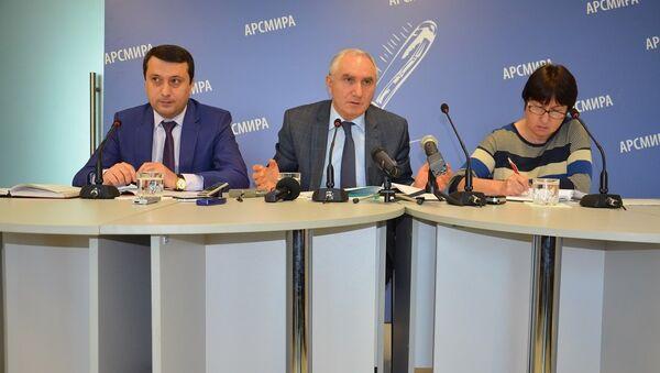 Пресс-конференция Валерия Бганба - Sputnik Абхазия