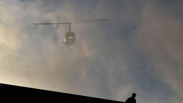 Архивное фото вертолета Robinson R66 - Sputnik Абхазия