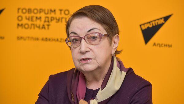 Пресс-конференция гендерное представительство в Парламенте - Sputnik Абхазия