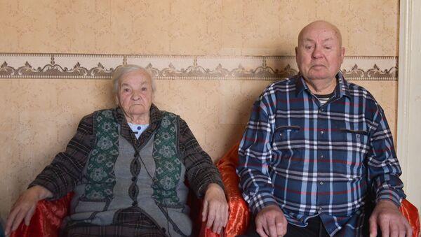 Супруги Артюх Филипп и Любовь - Sputnik Абхазия