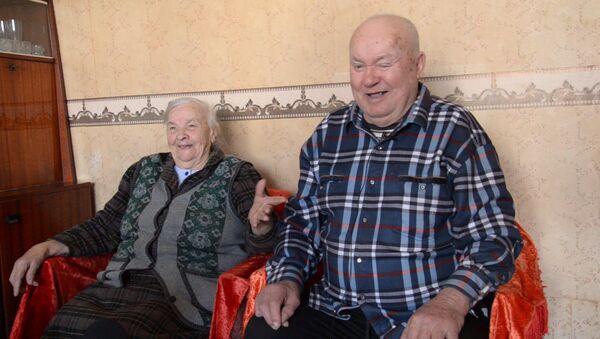 Благодатная пара Абхазии поделилась секретами семейного долголетия - Sputnik Абхазия