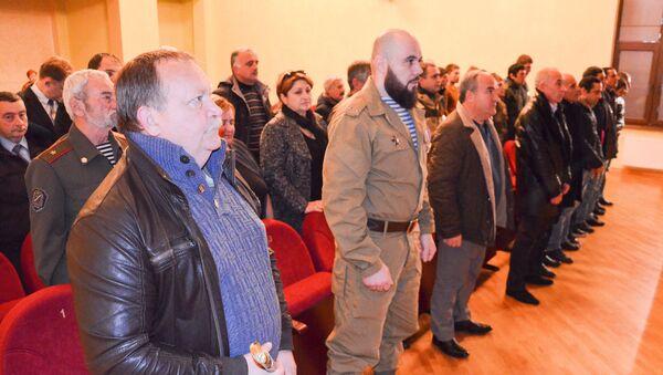 Награждение черноморских казаков в Музее Боевой Славы - Sputnik Абхазия