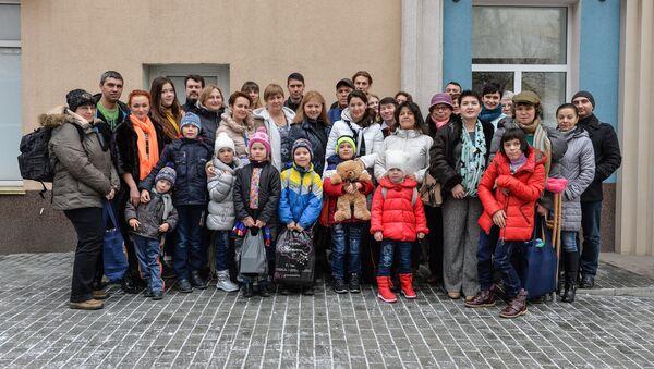 Воспитанники школ-интернатов и детских домов - Sputnik Абхазия
