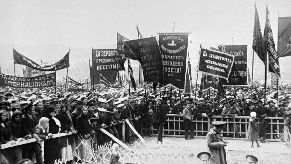 1917 шықәсатәи Февральтәи ареволиуциа - Sputnik Аҧсны