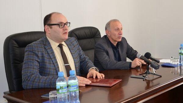 Беслан Барателиа и Руслан Хашиг - Sputnik Аҧсны