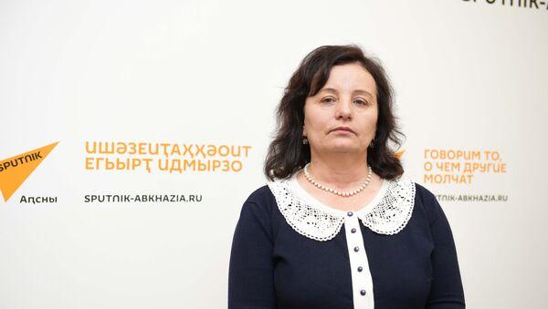 Ажурналист, ашәҟәыҩҩы Екатерина Бебиаԥҳа - Sputnik Аҧсны