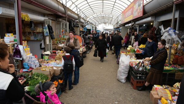 Сухумский центральный рынок - Sputnik Абхазия