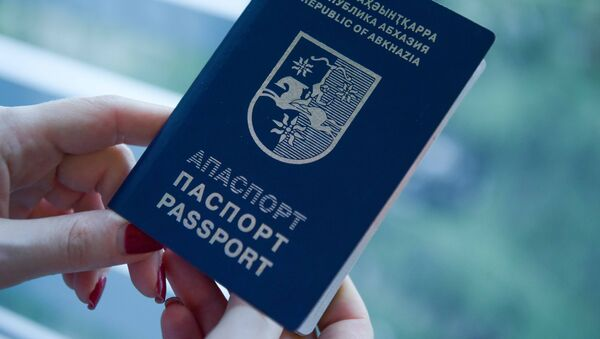 Загранпаспорт Абхазии - Sputnik Аҧсны