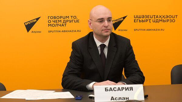 Пресс-конференция РУП Черноморэнерго в Sputnik Абхазия - Sputnik Абхазия