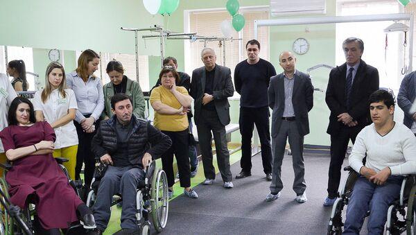 Открытие нового зала реабилитационного центра АИС - Sputnik Абхазия