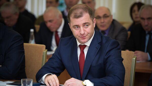 министр экономики Абхазии Адгура Ардзинба - Sputnik Абхазия