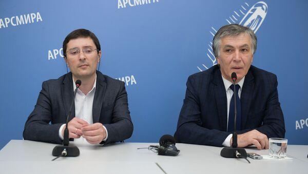 Пресс-конференция минздрава - Sputnik Абхазия