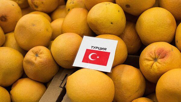 Турецкие мандарины - Sputnik Абхазия