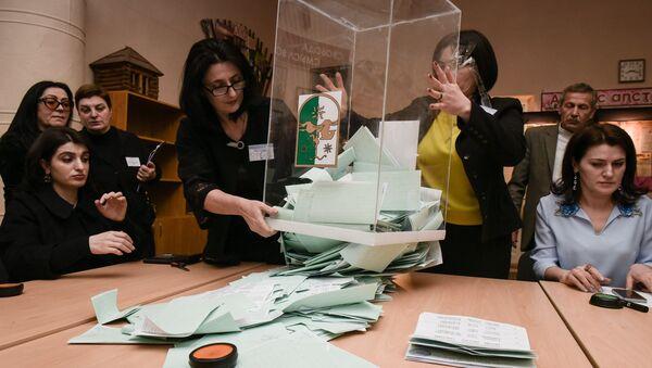 Подсчет голосов - Sputnik Абхазия