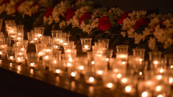 Зажжение свечей в память мартовской операции - Sputnik Абхазия
