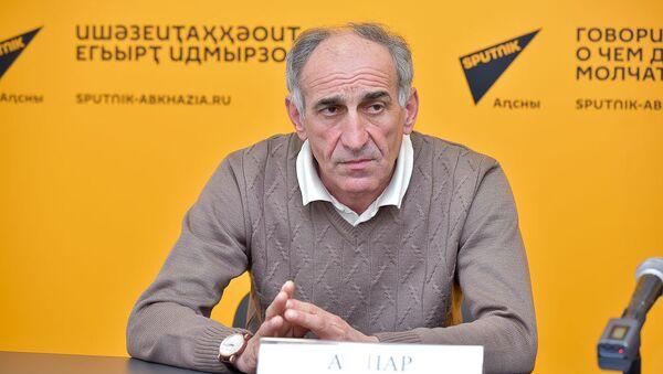 Пресс-конференция о суперкубке и чемпионате Абхазии по футболу - Sputnik Абхазия