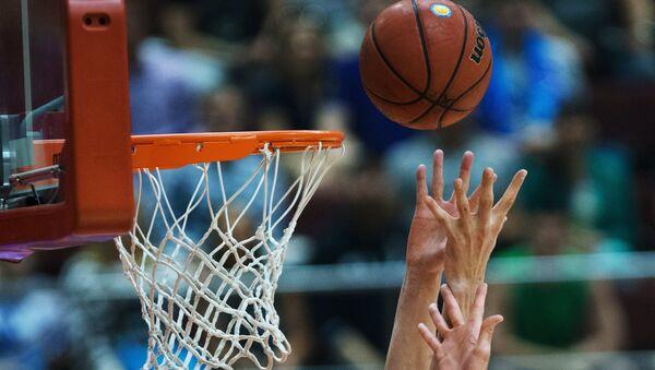 Архивное фото баскетбольной сетки - Sputnik Абхазия