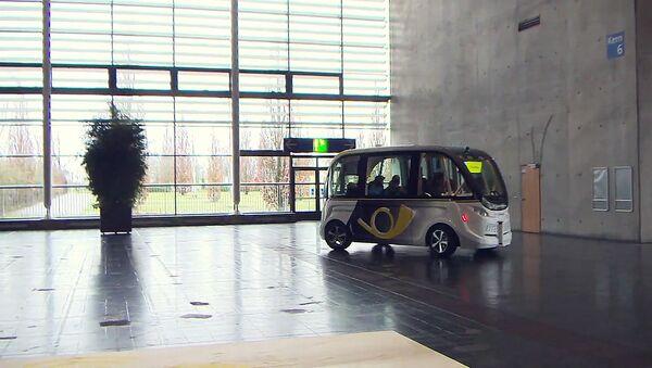 Робоавтобус в Ганновере - Sputnik Абхазия