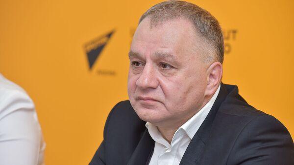 Пресс-конференция о третьем международном лагере Юный Патриот - Sputnik Абхазия