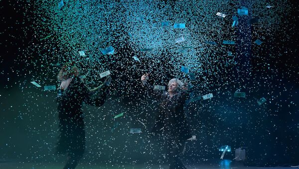 Постановка РУСДРАМ-шоу  в Русском театре - Sputnik Абхазия
