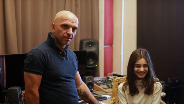 Валериа Адлеиаԥҳа Александр Шьоууа дсасны диҭан - Sputnik Аҧсны