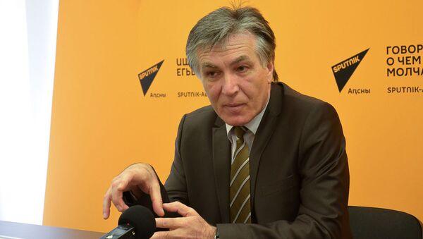 Андзор Гоов абрифинг мҩаԥигеит Sputnik Аԥсны апресс-центр аҟны - Sputnik Аҧсны