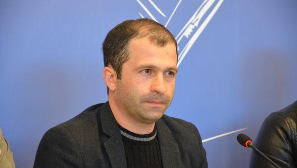 Начальник управления собственной безопасности МВД Абхазии Игорь Базильский - Sputnik Абхазия
