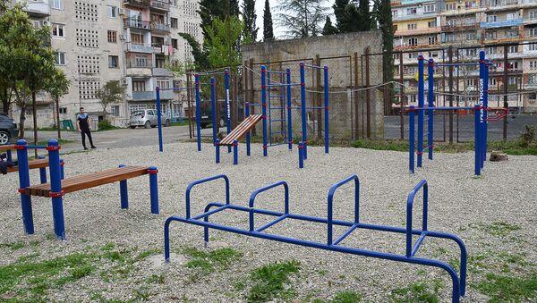 Спортивная площадка - Sputnik Абхазия