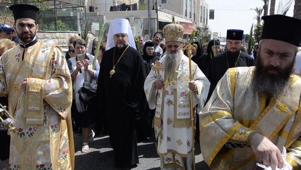 Около 30 абхазских паломников отправились в Иерусалим накануне Пасхи - Sputnik Абхазия