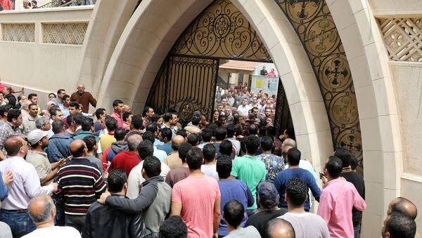 Смертник осуществил взрыв в египетской церкви - Sputnik Абхазия