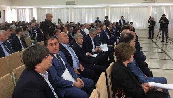 Первое заседание шестого созыва Парламента Абхазии - Sputnik Абхазия