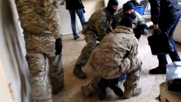 Спецоперация ФСБ и МВД РФ по задержанию контрабанды - Sputnik Абхазия