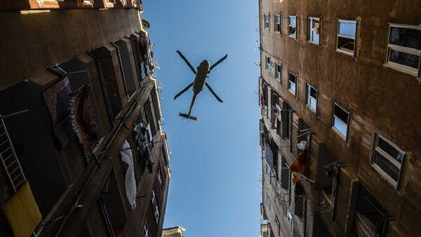 Полицейский вертолет в Турции - Sputnik Абхазия