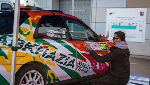 Абхазский судейский экипаж принял участие в Rally Masters Show 2017 - Sputnik Абхазия