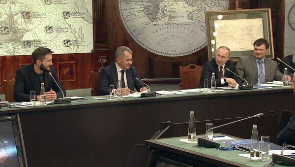 Путин на заседании РГО рассказал о работе президента РФ - Sputnik Абхазия