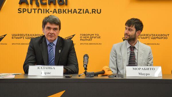 Пресс-конференция - Sputnik Абхазия
