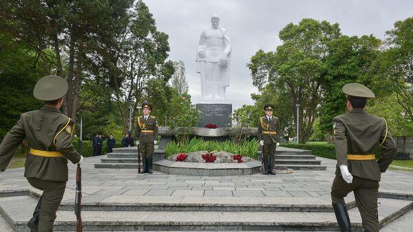 Празднование Дня Победы в Сухуме - Sputnik Аҧсны