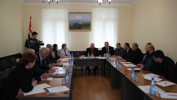 Заседание в Общественной палате - Sputnik Абхазия