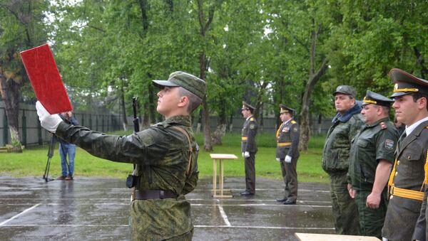 Присяга призывников в армию - Sputnik Аҧсны
