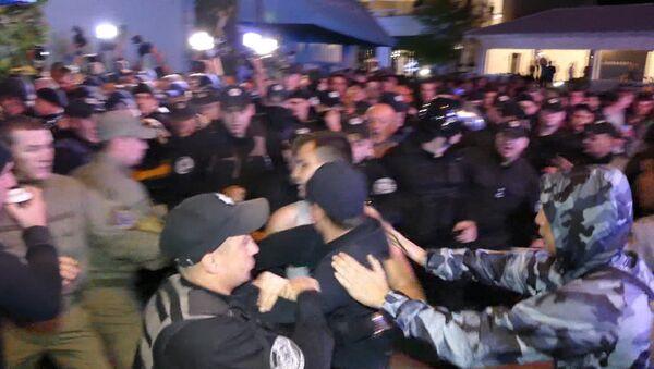 Протест из-за концерта Лободы в Одессе - Sputnik Абхазия