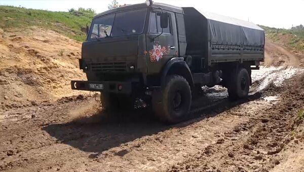 День военного автомобилиста - Sputnik Абхазия