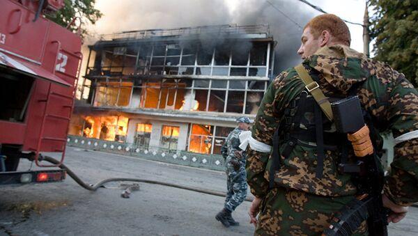 Последствия военных действий в Цхинвале - Sputnik Абхазия