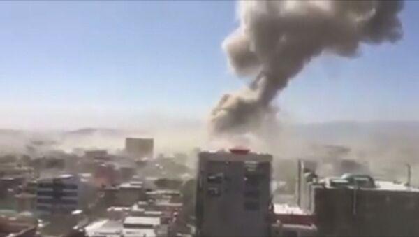 Мощный взрыв в центре Кабулы - Sputnik Абхазия