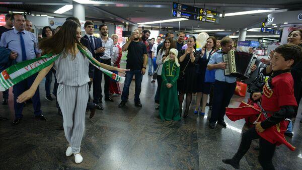 Валерия Адлейба вернулась в Абхазию - Sputnik Абхазия