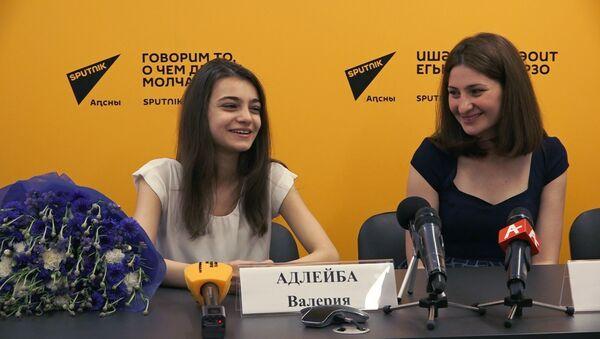 Пресс-конференция Валерии Адлейба - Sputnik Абхазия