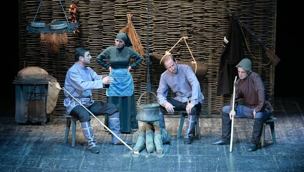 Премьера спектакля молодежного театра  Инапха Кягуа - Sputnik Абхазия
