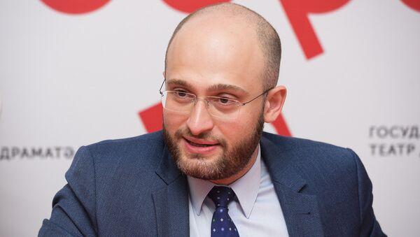 Пресс-конференция в РУСДРАМе по премьере спектакля Примадонна - Sputnik Аҧсны