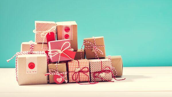 Коробки с подарками - Sputnik Абхазия