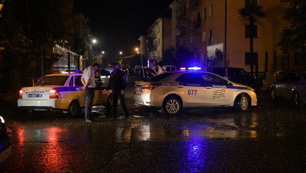 Взрыв произошел по улице Калмыкова в Сухуме - Sputnik Абхазия
