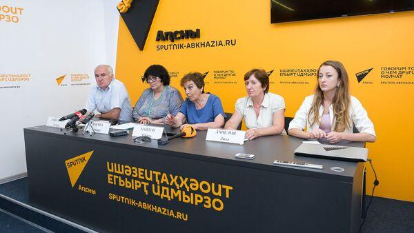Пресс-конференция с госуправлением по строительству и архитектуре Абхазии - Sputnik Абхазия